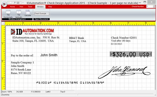Check Printing Design Software 2015 full