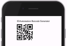 Barcode Generator within the PhoneGap Developer App