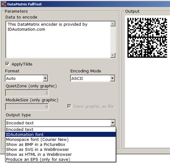 .NET Standard 2D Barcode Generator full screenshot