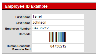 This is an IDAutomation Barcode Displayed on a FileMaker Form