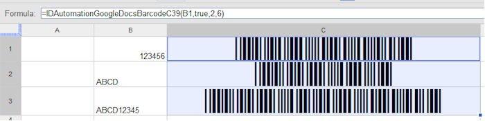 Create multiple barcodes