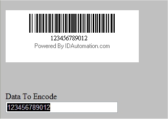 Dynamic barcode in SharePoint Designer