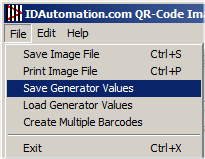 Settings may be saved to an XML and opened on another computer.