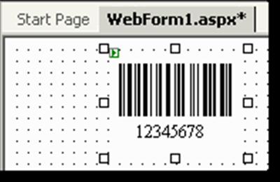 ASP.NET 2D Barcode Web Server Control full screenshot