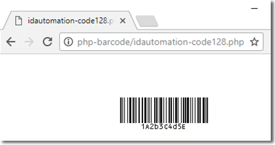 QR-Code PHP Barcode Script