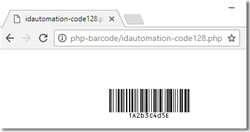 PHP Barcode Generator Script