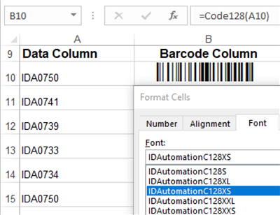 IDAutomation Code 128 Barcode Fonts 20.05 full