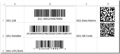 Windows 7 GS1 Linear Barcode Font Suite 16.08 full