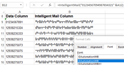USPS Intelligent Mail IMb Font Package
