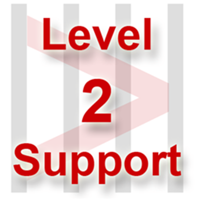 Level 2 Support for Code 128 Font Package