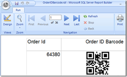 SSRS Barcode Generator for Reporting Services