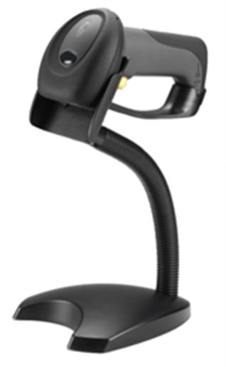 SC7USB-2D Scanner Hands Free Stand in Black