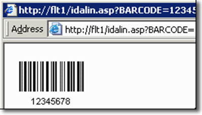 Streaming Barcode Server for IIS