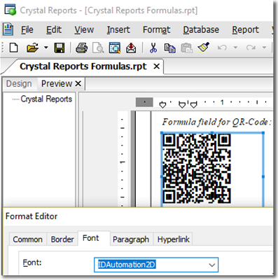 QR-Code Font and Encoder Suite