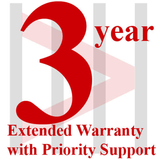 3-year Extended Warranty with Priority Support for SC5